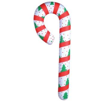 Canne de Noël gonflable