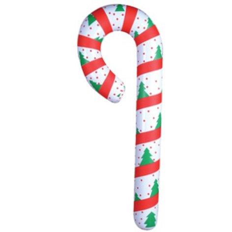 Canne de Noël gonflable 44''