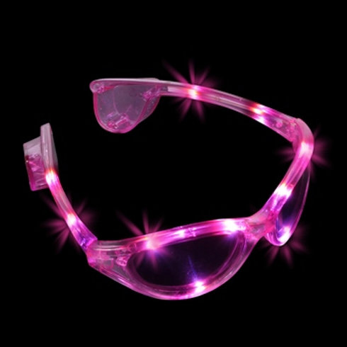 Lunette lumineuse rose