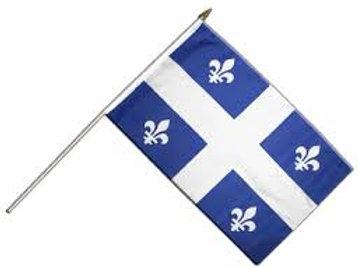 12 Drapeaux du Québec 12 x 18