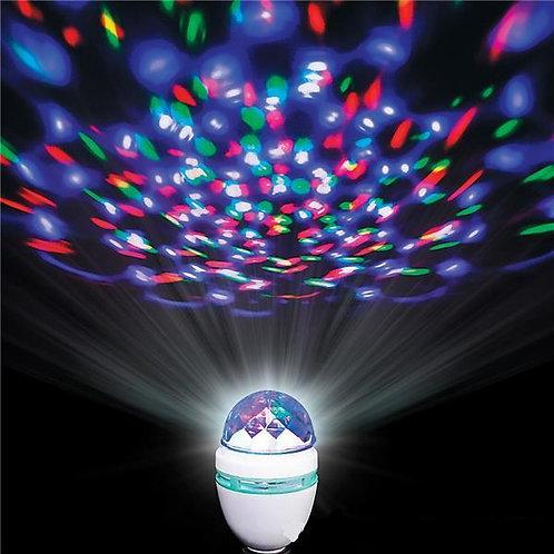 Bulbe disco rotatif