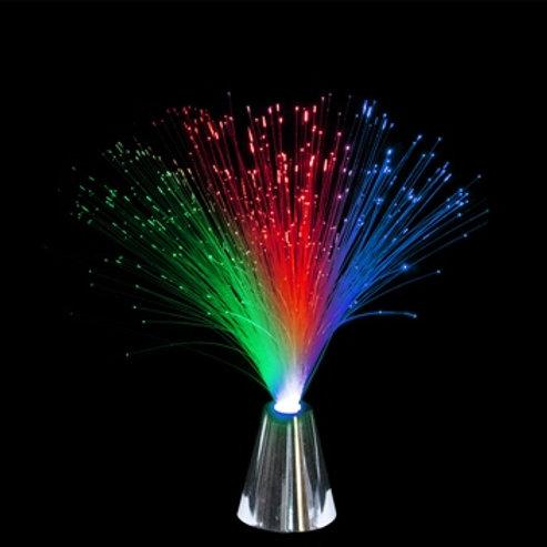 Lampe fibres optiques