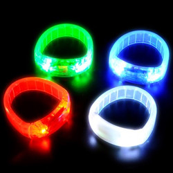 Bracelets lumineux DEL
