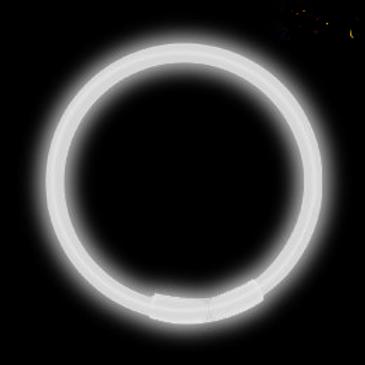 100 Bracelets lumineux blanc