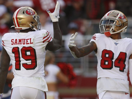 The state of the 49ers' WR corps: Deebo, Bourne, and hope