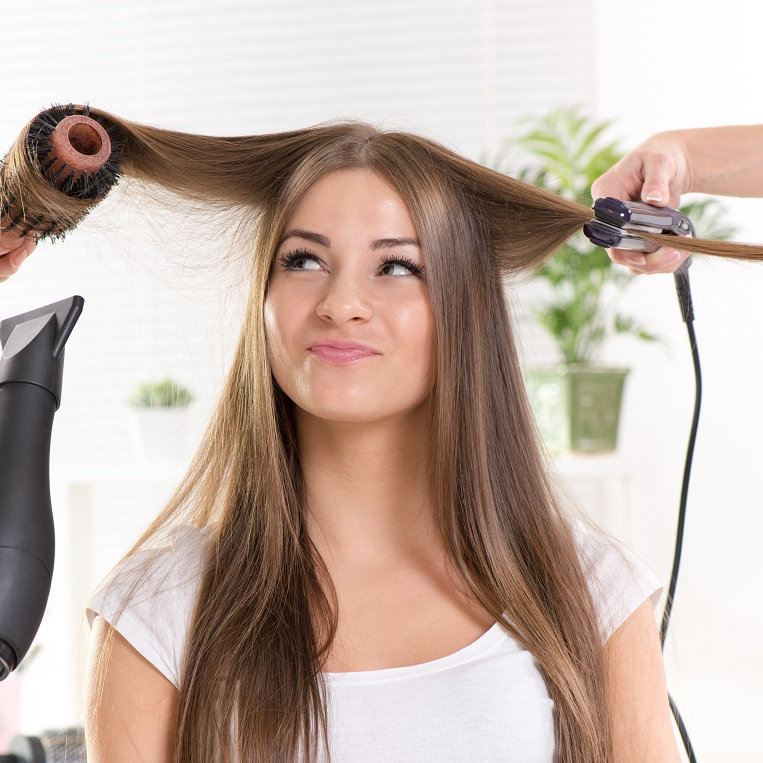 Woman Cut and Style