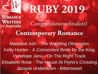 Bittersweet shortlisted for the RUBY Award