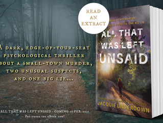 All That Was Left Unsaid - Exclusive Extract!