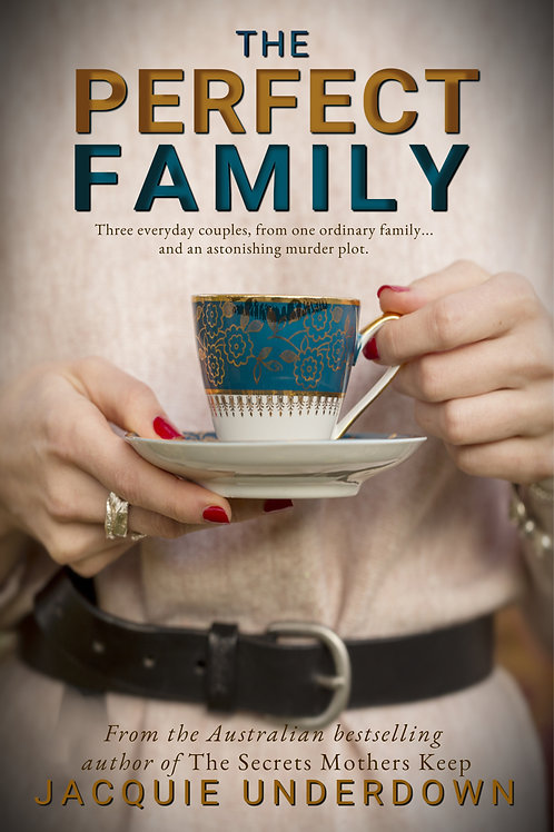 A signed paperback - The Perfect Family