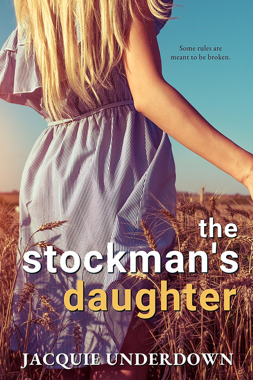 Signed paperback - The Stockman's Daughter
