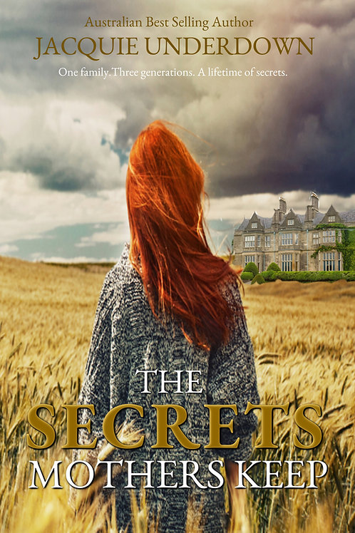 A signed paperback - The Secrets Mothers Keep