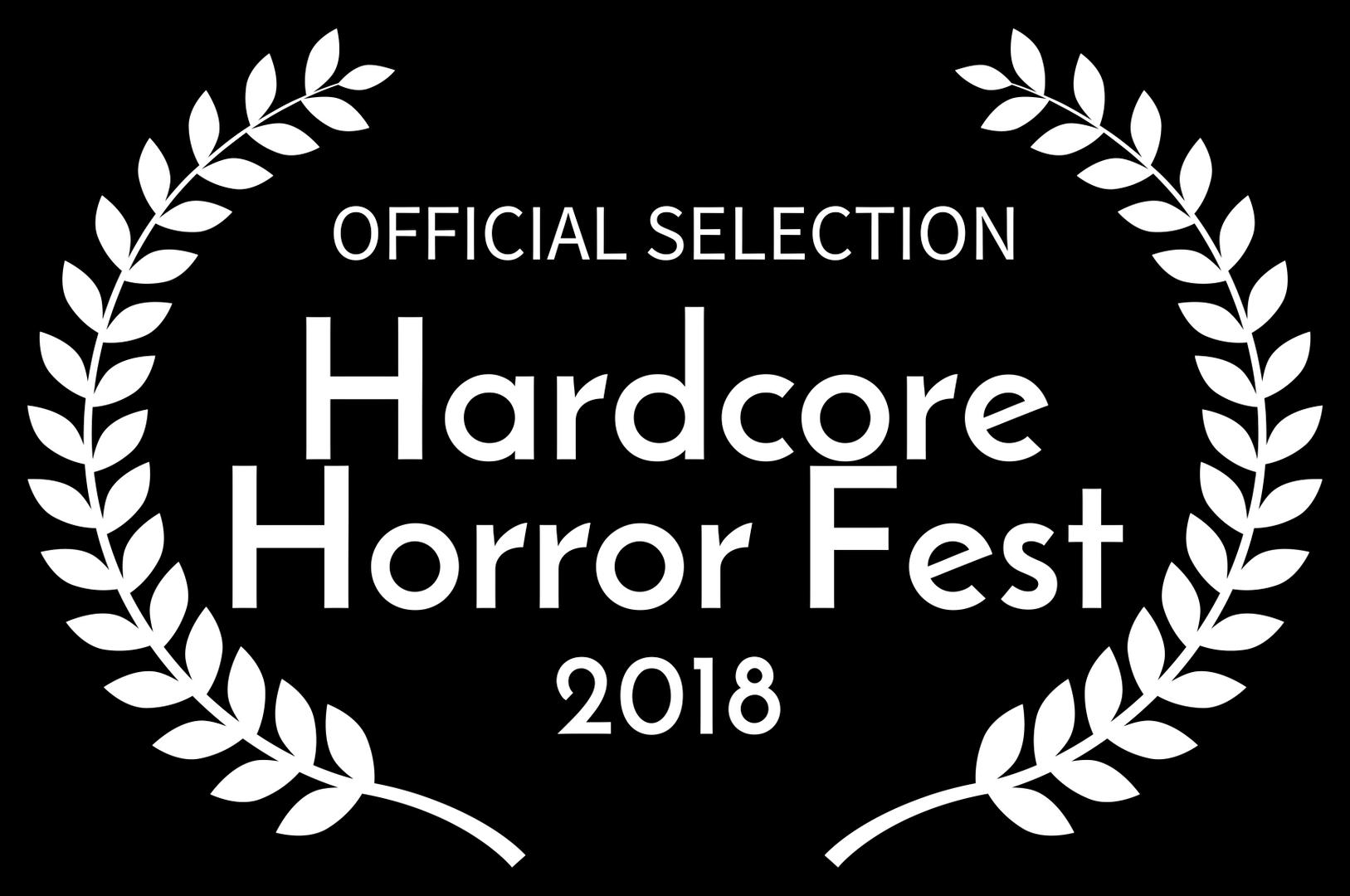 OFFICIAL SELECTION - Hardcore Horror Fes