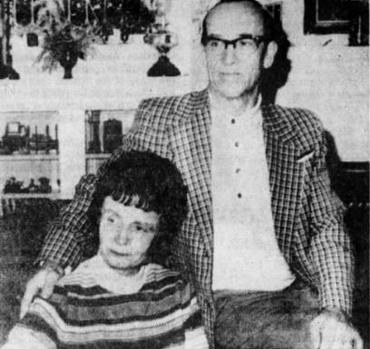 Ted Bundy's parents, Louise and John Bundy.