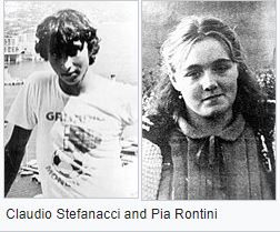 Claudio Stefanacci and Pia Rontini
