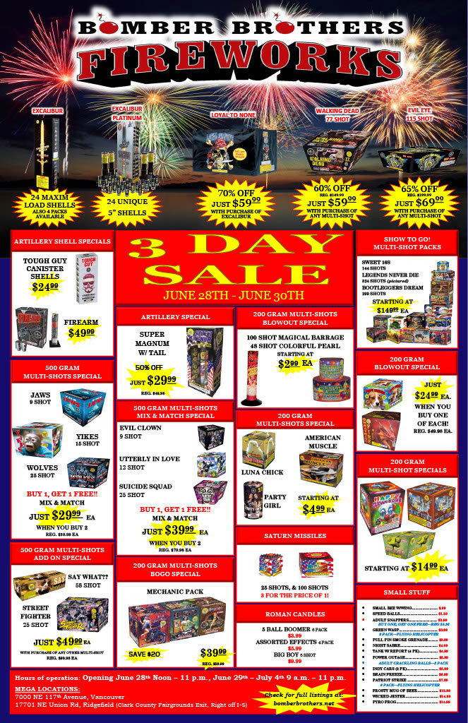 2021 Bomber Brothers 3 Day Sale Ad1024_1