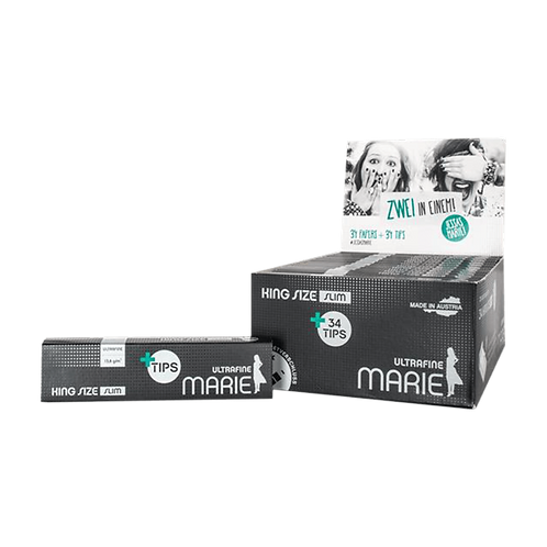 Marie King Size Slim + Filtertips, 26er Box