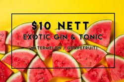 SUNTEC- Exotic G&T