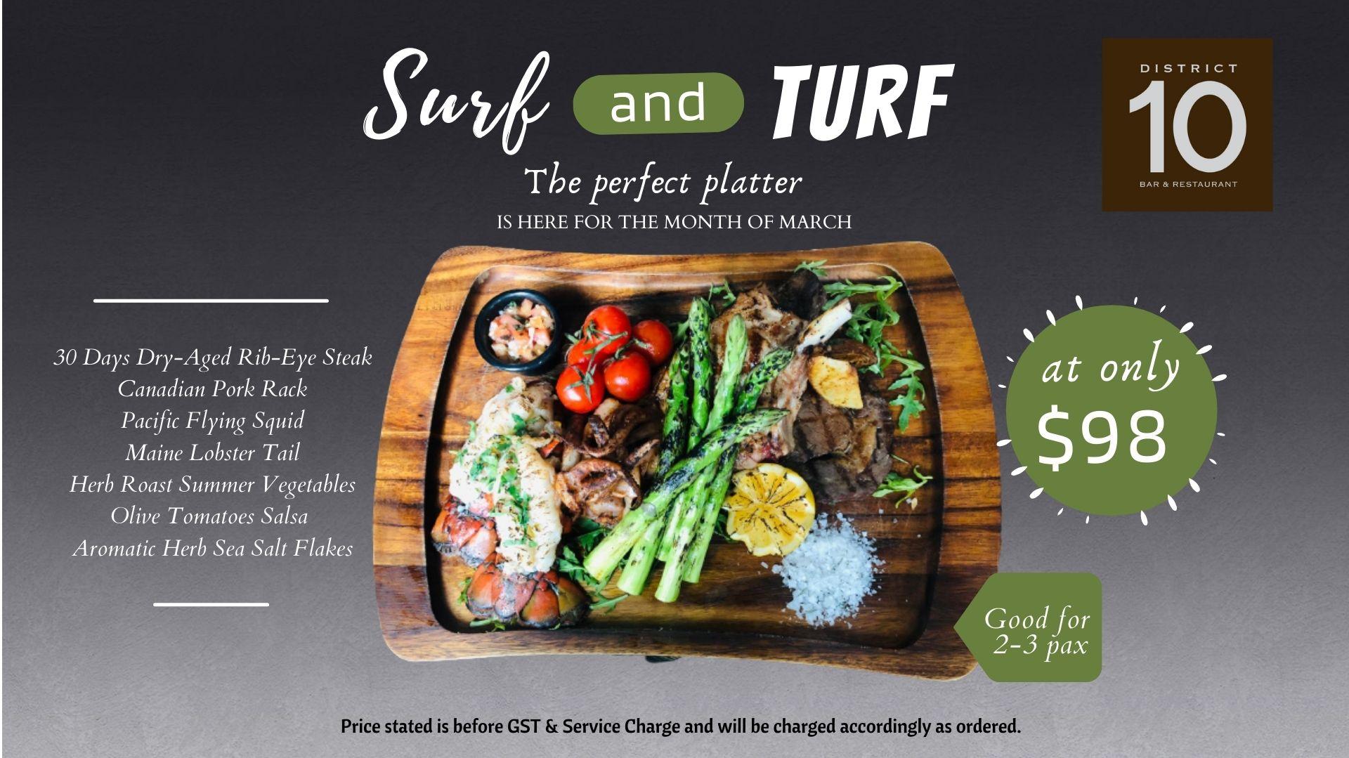 Surf & Turf TV Slide