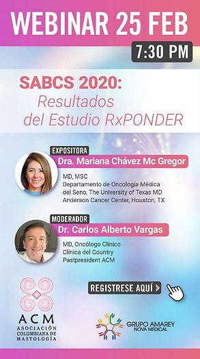 SABCS 2020 Resultados del Estudio RxPOND