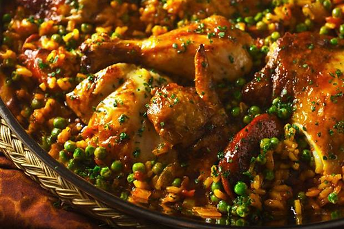 50 Platos de Paella de Carnes
