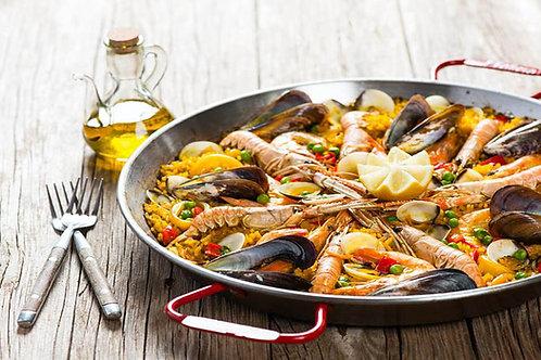10 Platos de Paella Marinera
