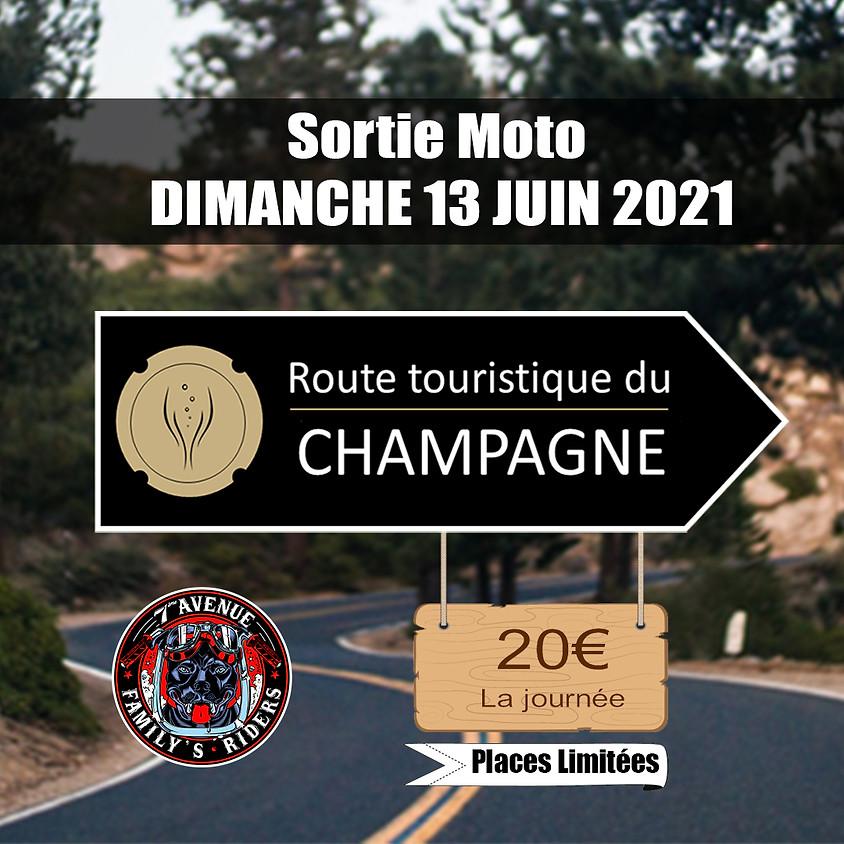 Sur les routes de Champagne DIMANCHE 13 JUIN 2021 - 09H00