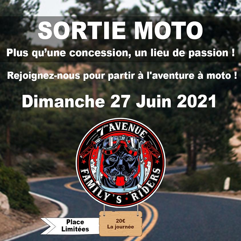 SORTIE MOTO DIMANCHE 20JUIN 2021 - 09H00