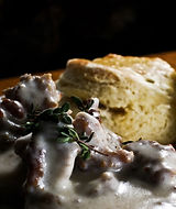 sausage gravy and biscuits5.JPG