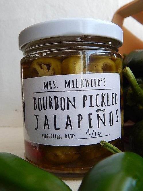 Bourbon Pickled Jalapenos