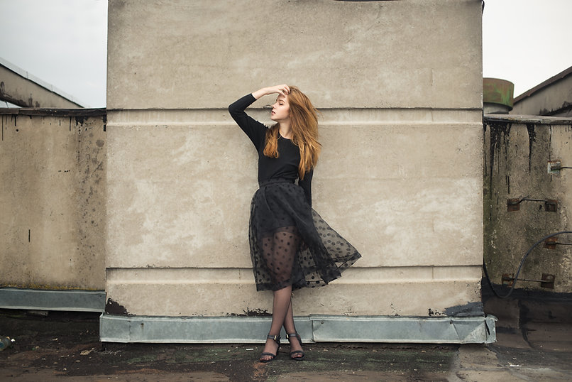 Posing Against a Wall