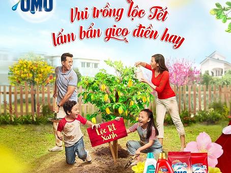 """[Cảm hứng từ Gieo] OMO : """"Vui trồng lộc Tết - Lấm bẩn gieo điều hay"""""""