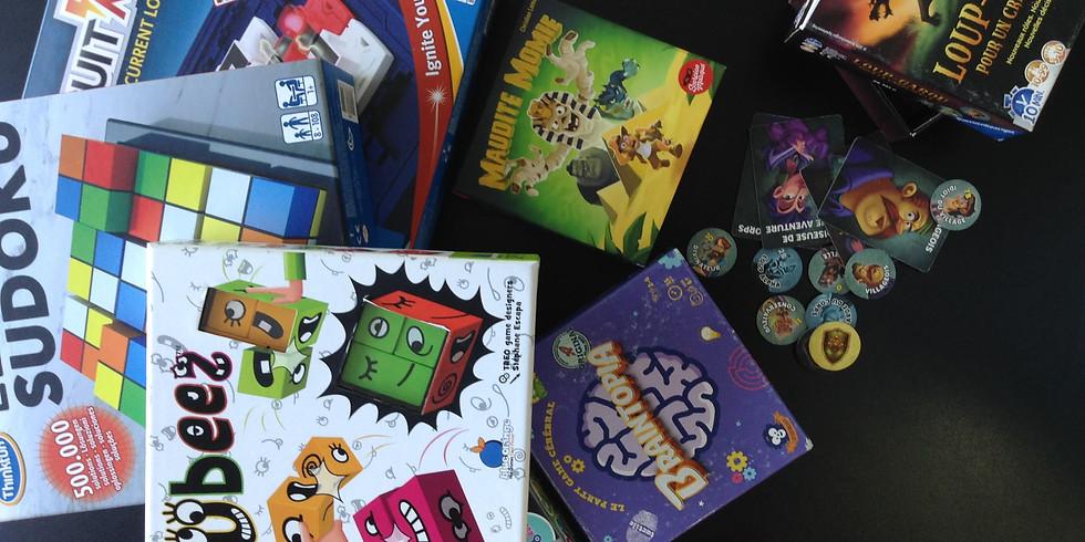 Jeux de société animés (6-12 ans)