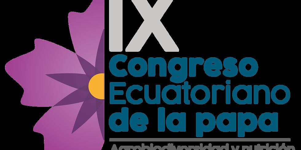 IX Congreso Ecuatoriano de la Papa