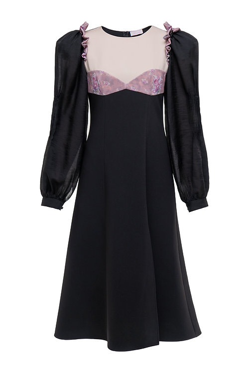 "Black dress ""Rosa"""