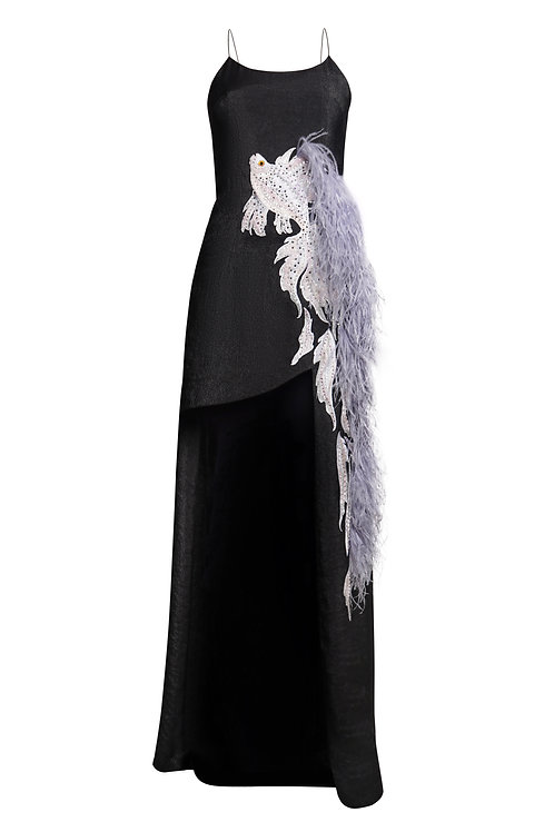 "Black gown ""Fish""dress"