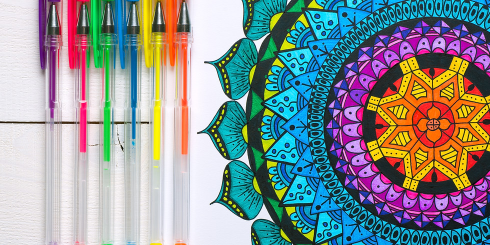 Coloring and Tea Night Out!  $5 pp