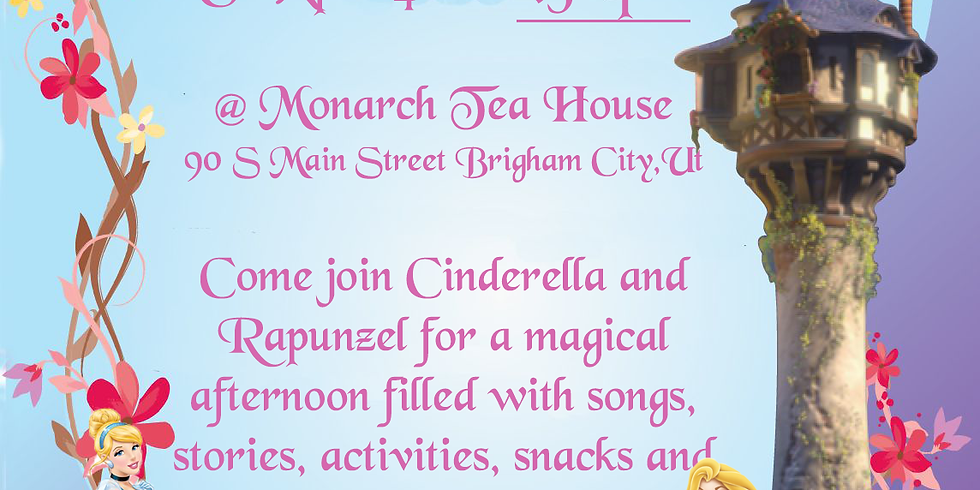 Rescheduled to June 6th - Cinderella and Rapunzel! 1:30pm