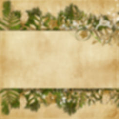 Christmas card with miraculous garland o