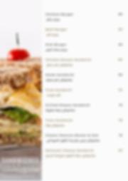 Healthy Dish Restaurant Sandwiches Menu.