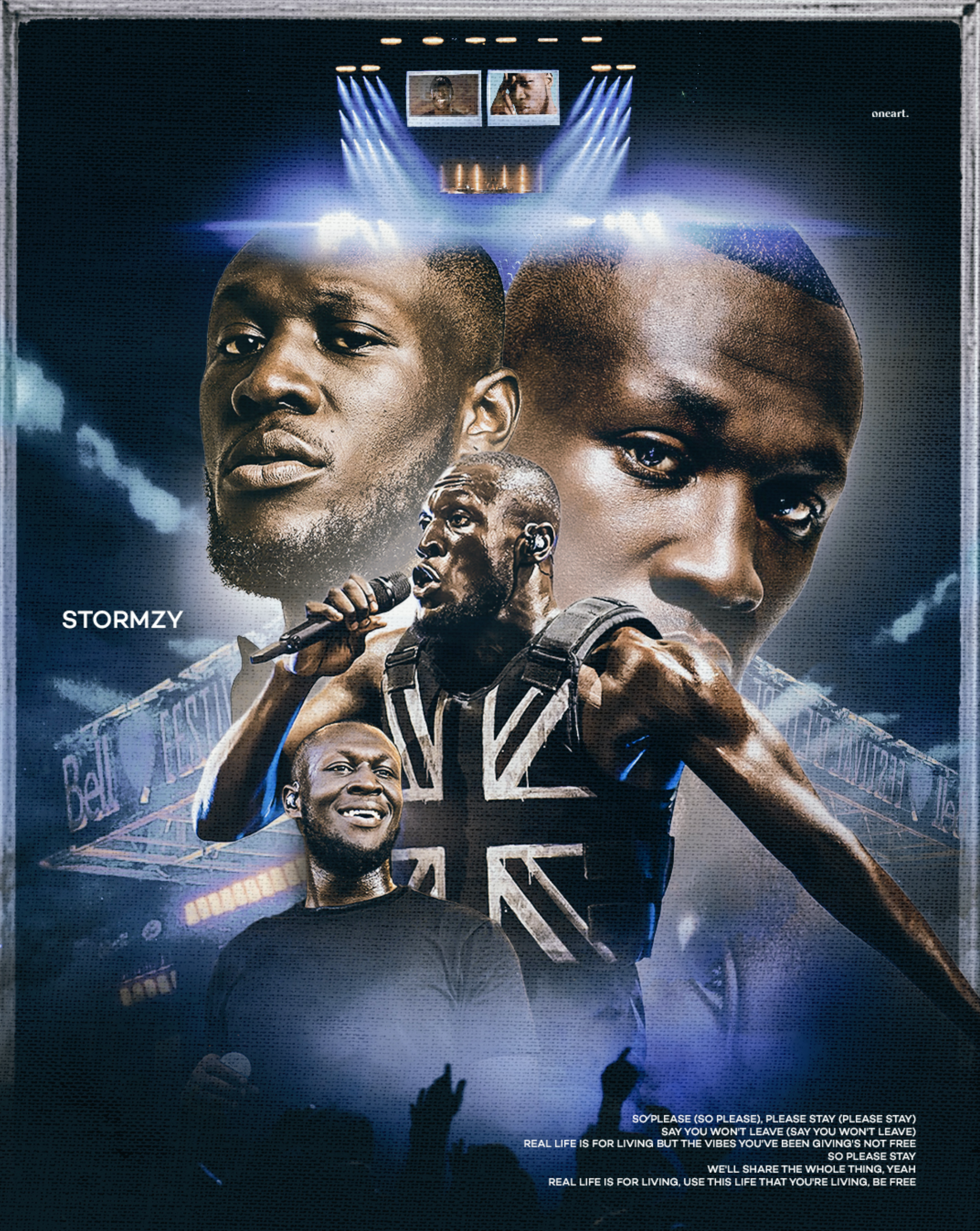 STORMZY X ONEART