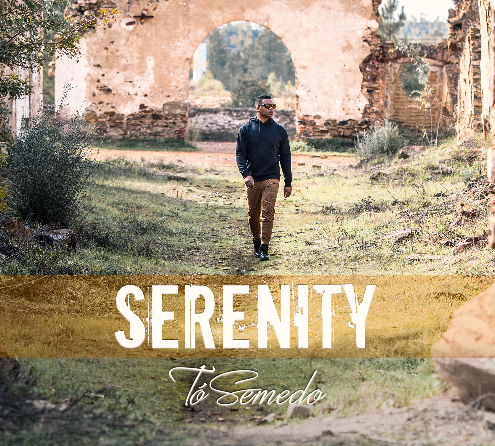 "FRONT COVER ""SERENITY"" ÁLBUM"