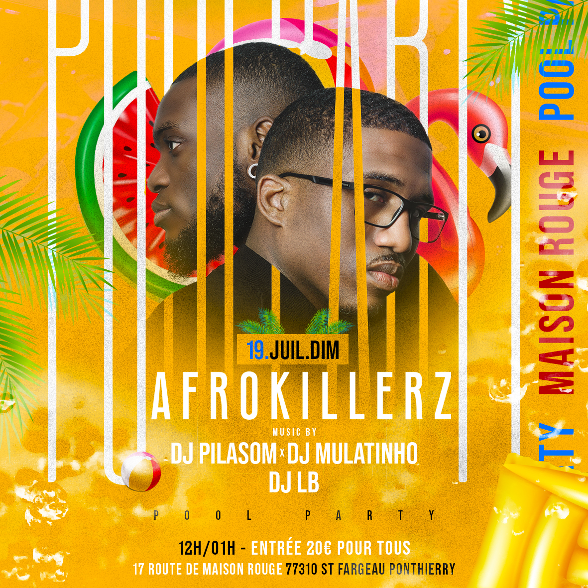 AFROKILLERZ POOL PARTY