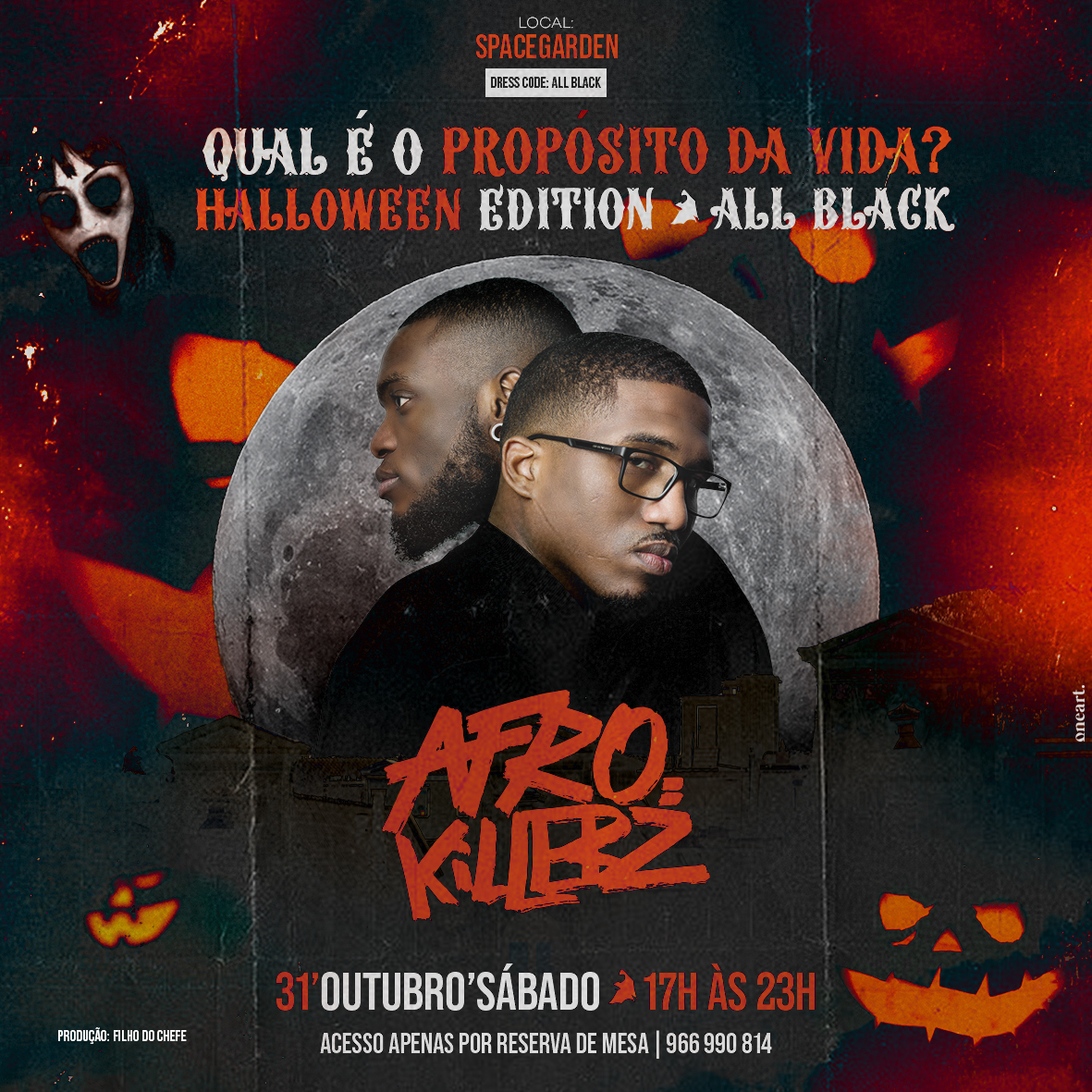 HALLOWEEN PARTY W/ AFROKILLERZ