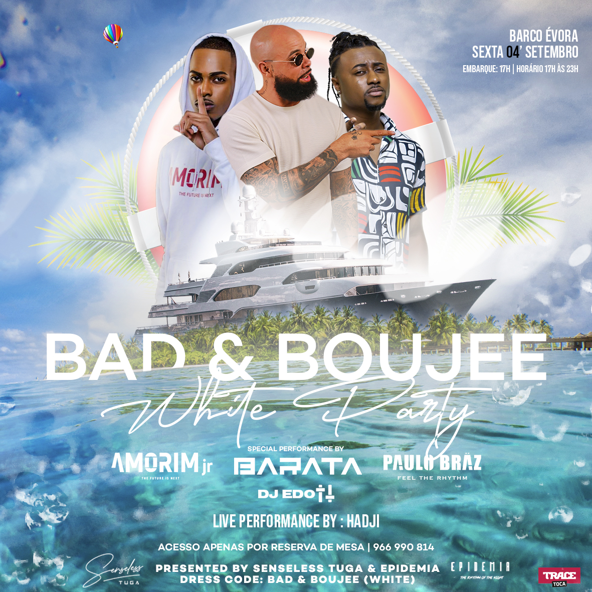 BAD & BOUJE FLYER ARTWORK