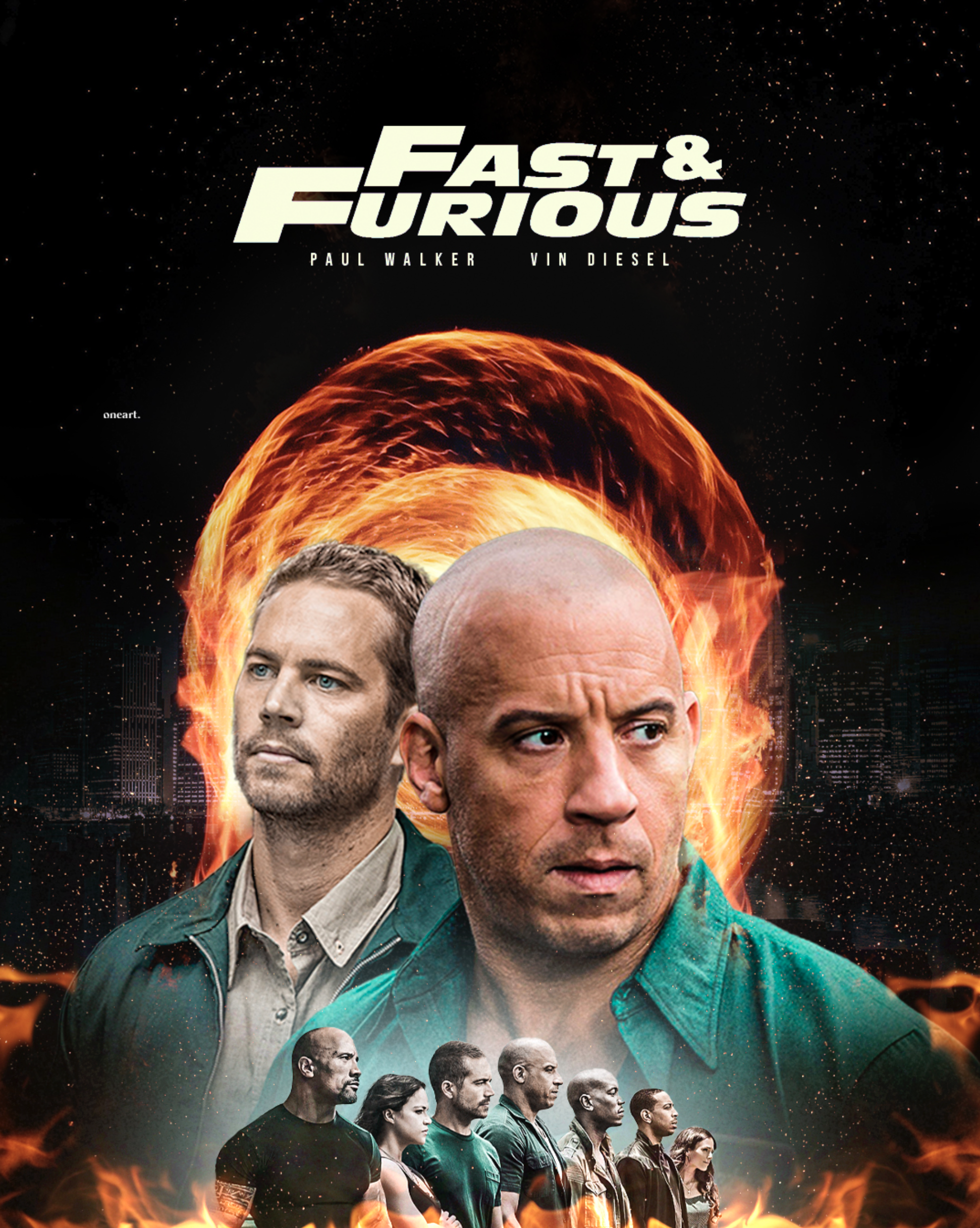 FAST & FURIOUS X ONEART