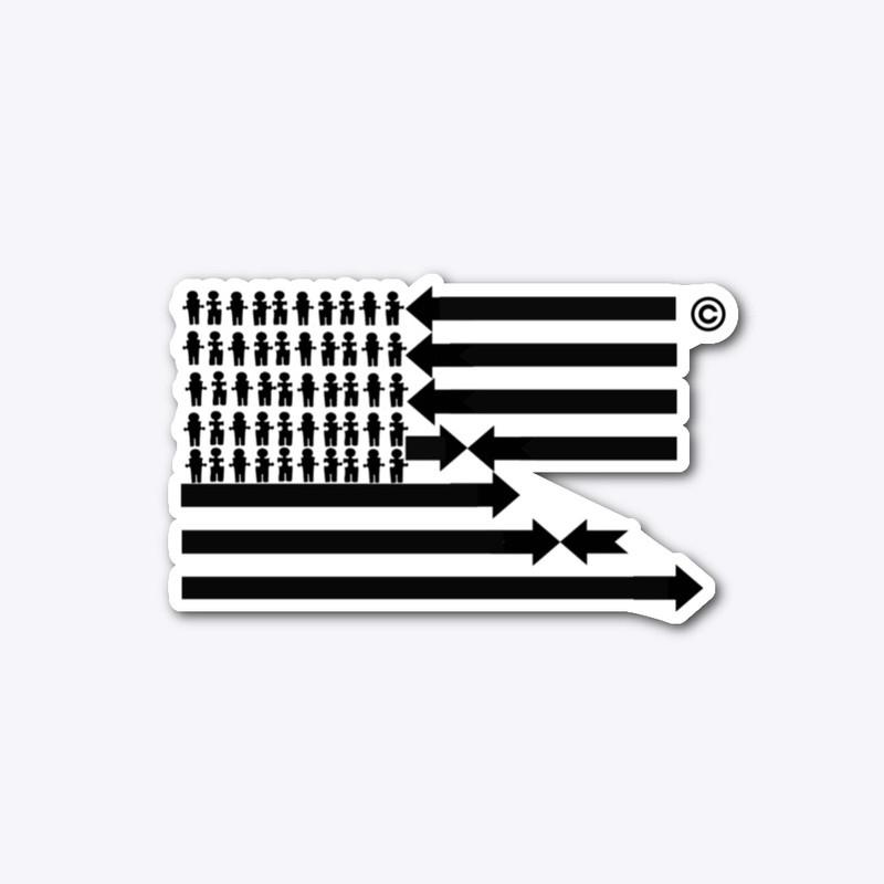 See We EVOLVE Die Cut Sticker