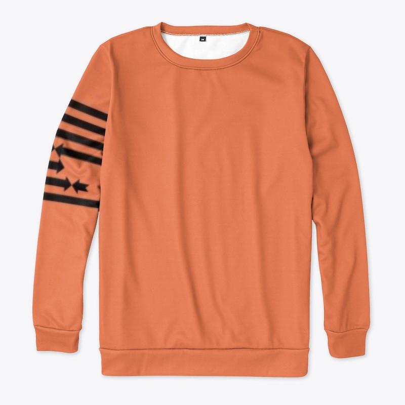 See We EVOLVE All Over Print Sweatshirt