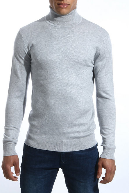 GARAN / SUPER KNIT / GREY MELANGE