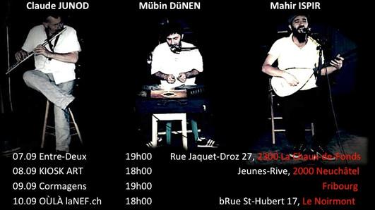 Mübin Dünen & Mahir Ispir & Claude Junod