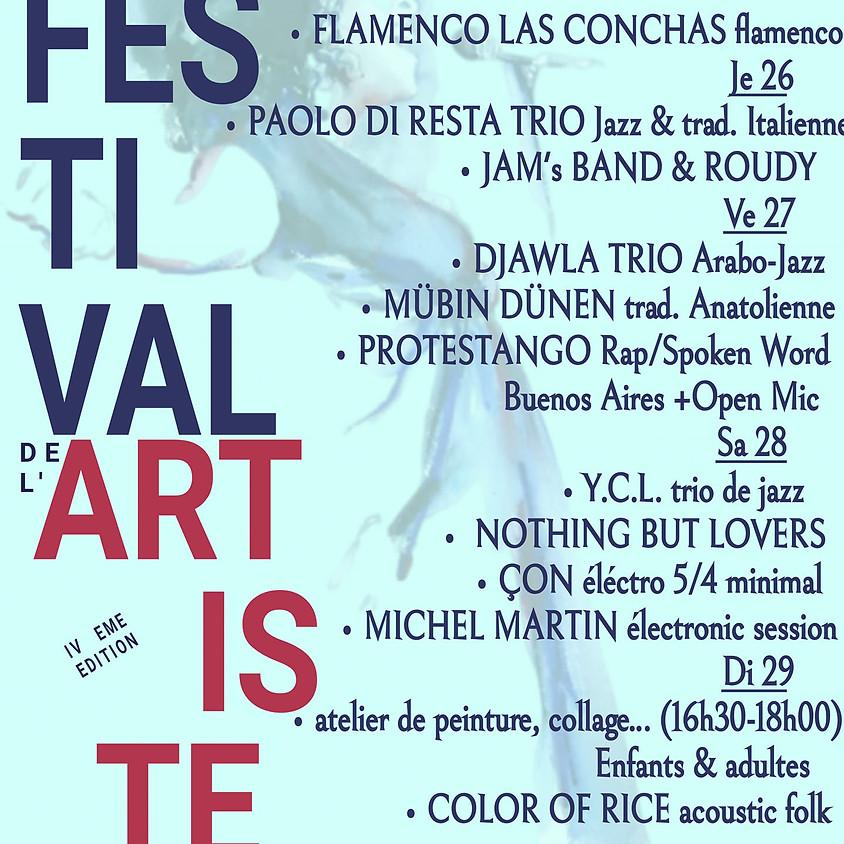 FESTIVAL DE L'ARTISTE iV